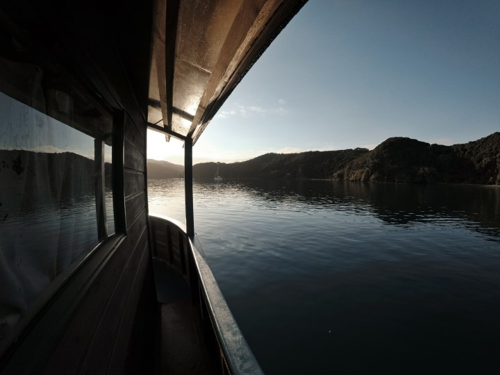 Sunrise on The Rock Adventure Cruise in the Bay of Islands, New Zealand