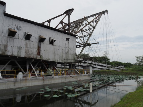 TT5 Tanjung Tualang tin dredge - an Ipoh heritage close to Batu Gajah