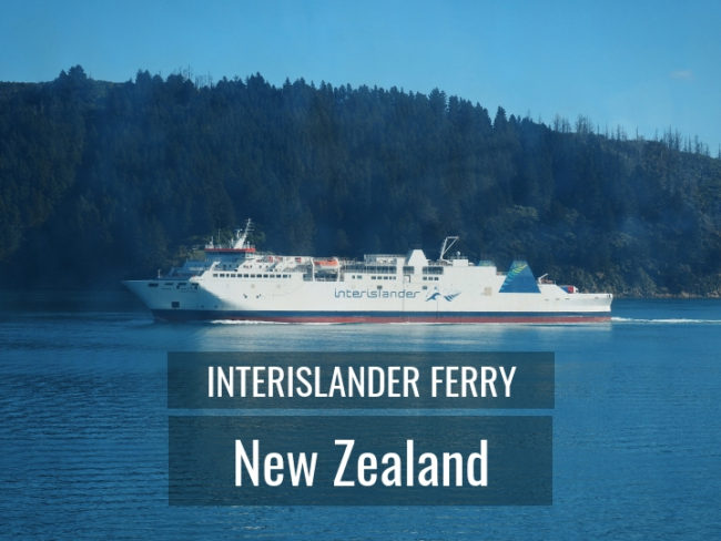 Taking the Interislander ferry between North and South island in New Zealand. Interislander Or Bluebridge?