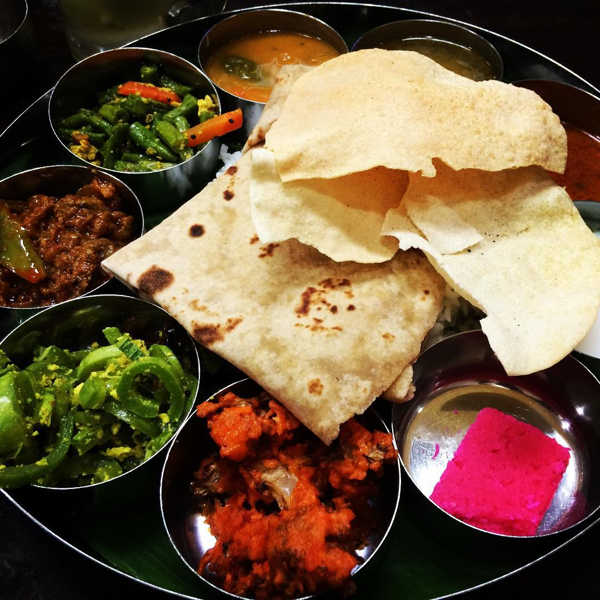 Thali Set By Thali NR Sweets Cafe, Market Street In Little India Penang