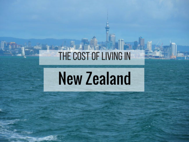 The Cost of Living in New Zealand