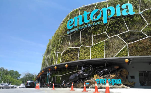 The Exterior Of Entopia Butterfly Farm In Teluk Bahang, Penang