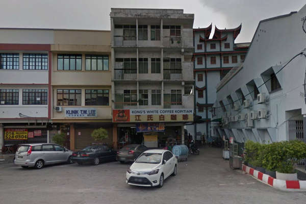 The Exterior of Kong White Coffee Kopitiam