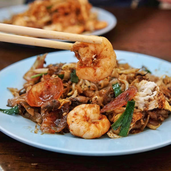 The Famous Mouth Watering Siam Road Charcoal Char Koay Teow In Penang