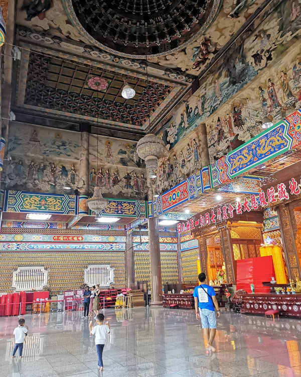 The Main Hall, Avalokiteshvara Hall At Kek Lok Si Temple