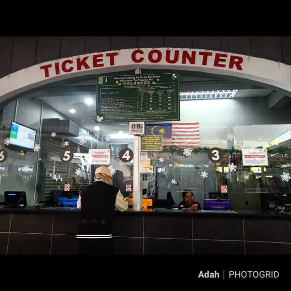 Ticket Counter for Penang Hill