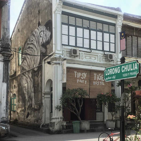 Tipsy Tiger Party Hostel In Georgetown Penang