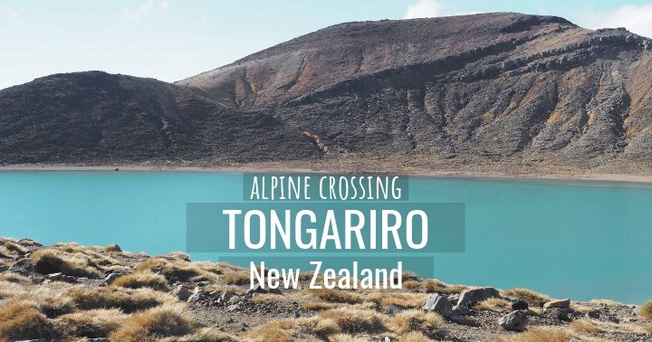 Tongariro Alpine Crossing in North Island New Zealand - More on this fabulous day hike on www.travelswithsun.com