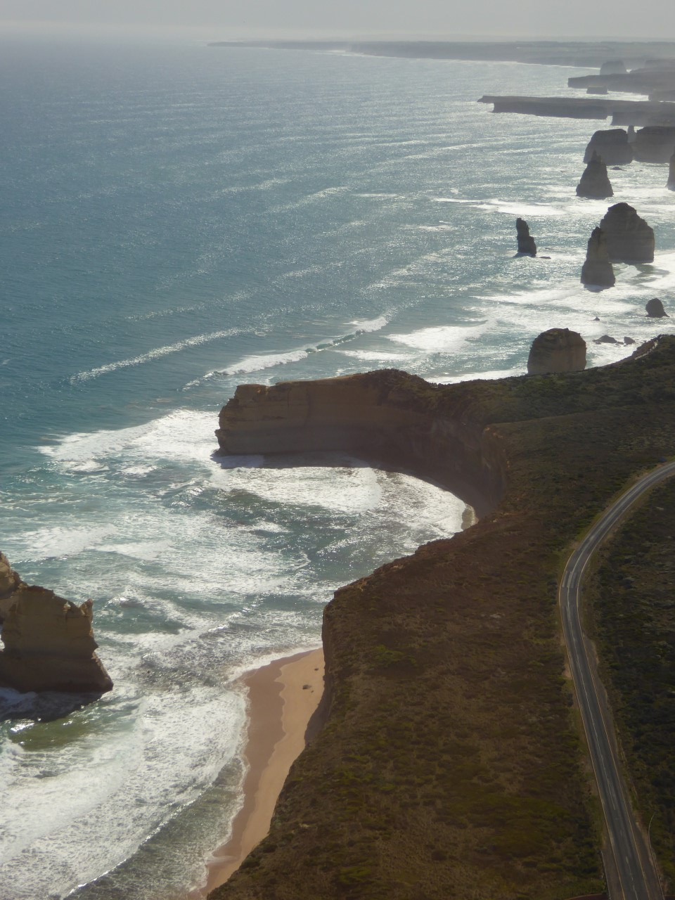 Twelve Apostles along the coast- Great Ocean Road