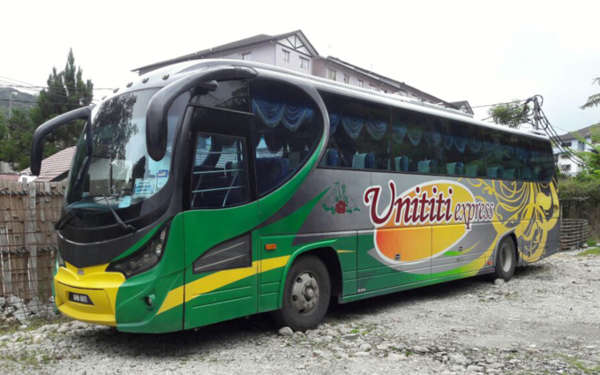 Unititi Express Bus From Penang To Cameron Highlands