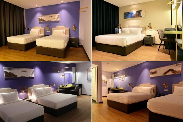 Various Room Layouts At Le Embassy Hotel In George Town