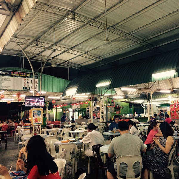 Viva Local Food Haven Is A Popular Hawker Food Court Close To Penang Avatar Secret Garden