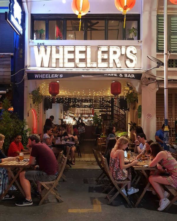 Wheeler's Cafe & Bar In Penang