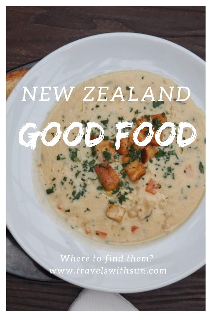Where to find good food in New Zealand and more on www.travelswithsun.com