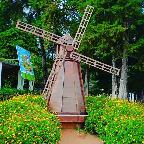 Windmill In The Gardens Of Agro Technology Park MARDI Cameron Highlands