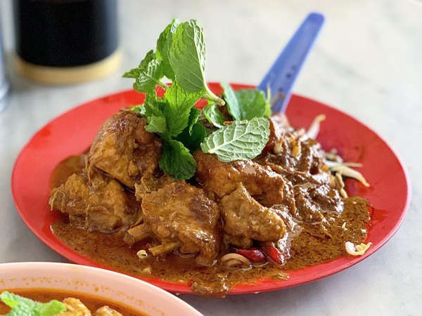 Yee Fatt Dry Curry Noodles At Ipoh