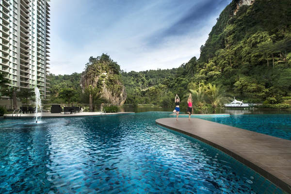 Yoga By The Pool At The Haven Ipoh