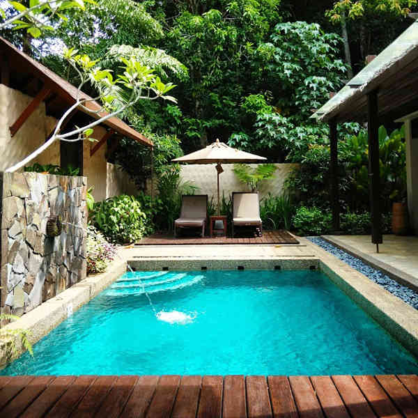 You can have your own private pool at The Banjaran Hotsprings Retreat